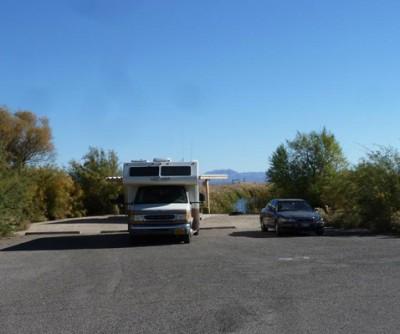 Roper Lake campsite