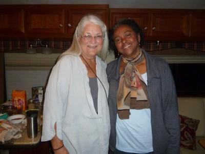 P1220326 Kristin and Carol in Pahrump (Large)