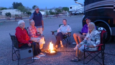P1010322 gas campfire with Judy Nola David (Large)