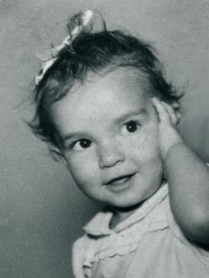 Baby Kristin print