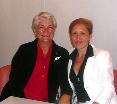 Kristin with Camelia 2008