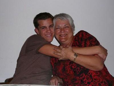 Mikey and Grandma Kristin2