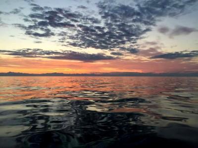 Uff Da sunset