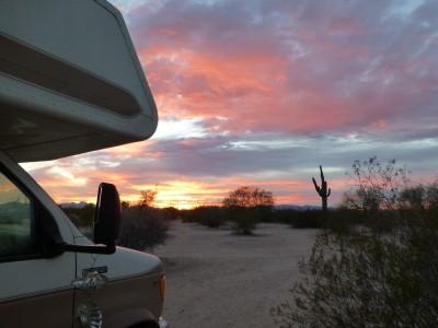 P1100984 Camp sunrise