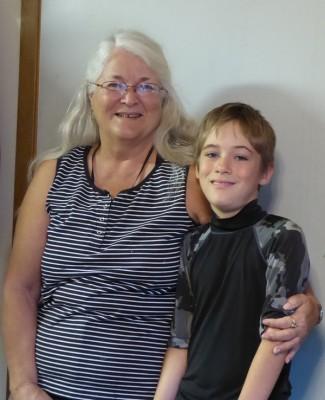 P1010548 Grandma and Janek