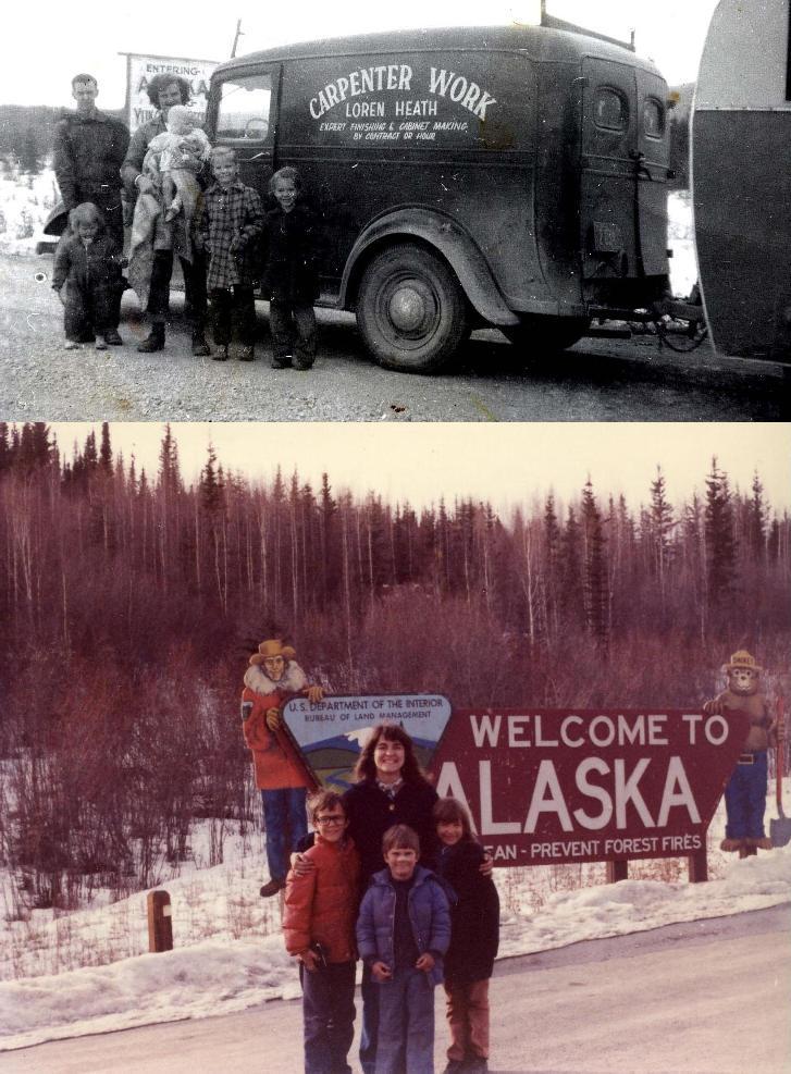 Driving to Alaska 1952 1977sm